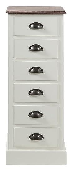 AC Design Furniture 48676 Kommode Thomas/ 33 x 30 x 90 cm
