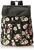 Madden Girl Bposter Backpack Handbag, Black Floral Multi, One Size