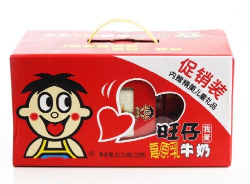 旺仔牛奶礼盒250ml 12图片