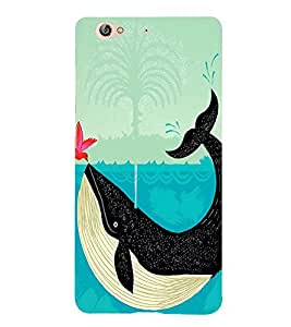 Bird and a Whale 3D Hard Polycarbonate Designer Back Case Cover for Gionee S6