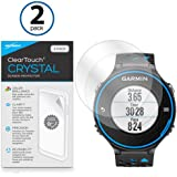 BoxWave Garmin Forerunner 620 ClearTouch Crystal (2-Pack) Screen Protector - Premium Quality, Ultra Crystal Clear Film Skin to Shield Against Scratches (Includes Lint Free Cleaning Cloth & Applicator Card) - Garmin Forerunner 620 Screen Guards and Covers