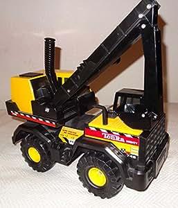 "Tonka: ""Mighty Backhoe"" - Steel 30"" Construction Vehicle"