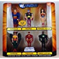 DC Universe Justice League Unlimited Exclusive Action Figure 6Pack Justice League Eclipsed Superman, Wonder Woman, Hawkgirl, The Flash, Green Lantern Eclipso