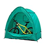 Outsunny Outdoor Portable Garage Shed Bicycle Storage Tent, Green