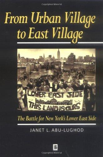 De aldea urbana a este pueblo: la batalla por Nueva York Lower East Side (pensamiento educativo moderno)