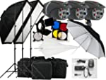 540w Studio Flash Lighting set 3 x 18...