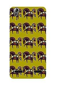 ZAPCASE PRINTED BACK COVER FOR LENOVO A6000 PLUS - Multicolor