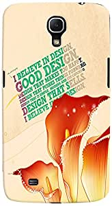 PrintVisa 3D-SGMEGA6.3-D8013 Quotes Design Case Cover for Samsung Galaxy Mega 6.3 I9200