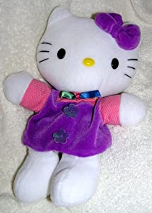 "1999 Plush 11"" Hello Kitty Hand Puppet Doll"