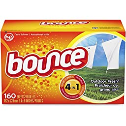 PAG80168 - Procter amp; Gamble Professional Bounce Fabric Softener Sheets