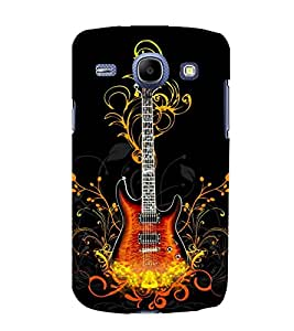 printtech Flaming Abstract Guitar Back Case Cover for Samsung Galaxy J2 / Samsung Galaxy J2 J200F