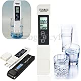 Digital LCD PH Meter TDS EC Water Purity PPM Filter Hydroponic Pool Tester Pen (TDS EC Tester Only)