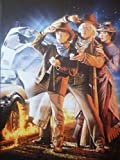 Back to the Future 3 - Mounted Movie Poster