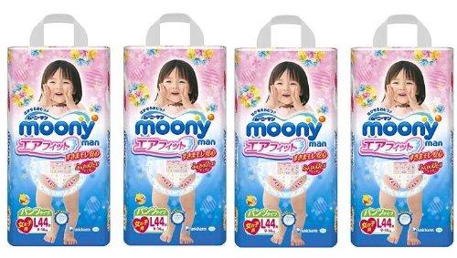 unicharm-pannolini-giapponesi-moony-pl-per-bambina-misura-9-14-kg-confezione-da-4-pacchi-per-un-tota