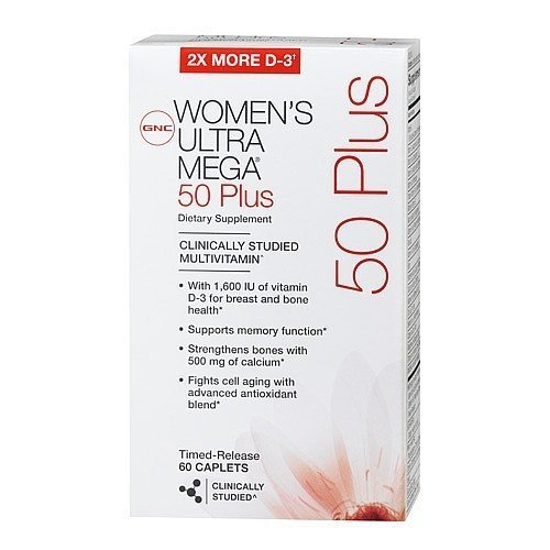 GNC 50 Plus Women Ultra Mega 60 Caps