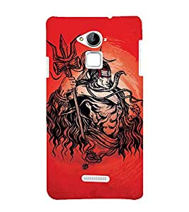 Vizagbeats Lord Maha Shiva Back Case Cover for Coolpad Note 3 Lite