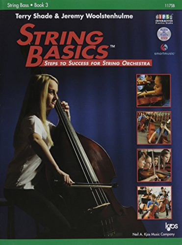 117SB - String Basics Book 3 - String Bass