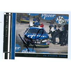 Mark Martin Autographed Hand Signed Trading Card (Auto Racing) 2005 Press Pass #72 by Hall of Fame Memorabilia