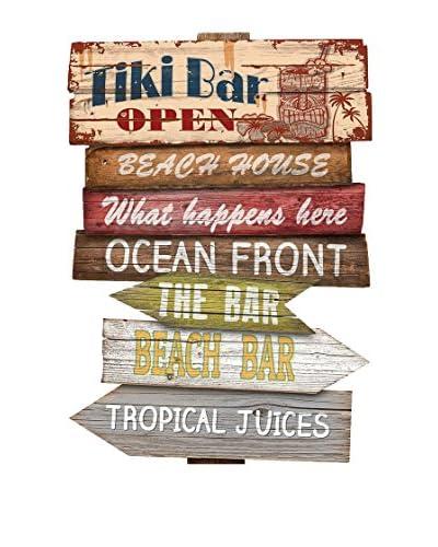 Really Nice Dingen muurschildering signaal Tiki Bar