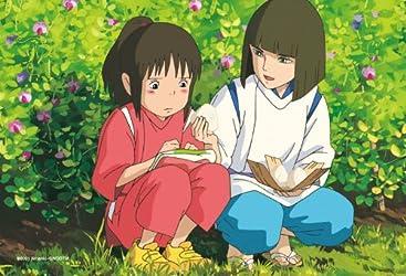 150ピース ミニパズル スタジオジブリ シネマart 2ショットシリーズ2 ハクの塩むすび (千と千尋の神隠し) 150-G15