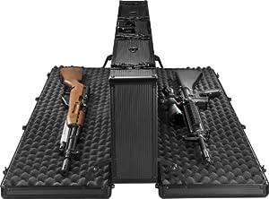 Barska Loaded Gear AX-400 Hard Rifle Case, Black by Barska