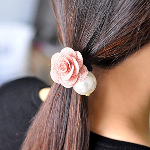 kakatm-women-girl-fashion-elegance-pink-rose-pearl-decorate-stretchy-hair-rope-band-accessories