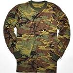 Rothco Long Sleeve T-Shirt, Woodland...