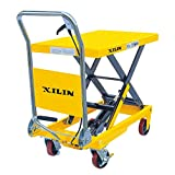 Xilin Hydraulic Scissor Lift Table Truck 1,100LBS Capacity
