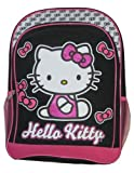 Hello Kitty Black & Pink Bows Girls School Backpack