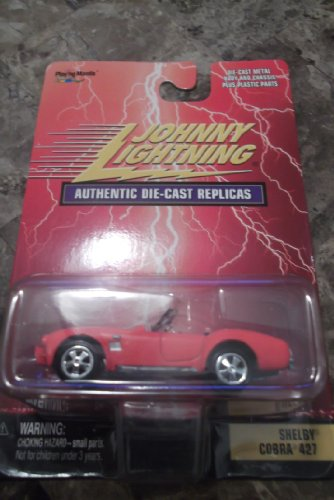 Johnny Lightning 1:64 Shelby Cobra 427 Authentic Die-Cast Replicas