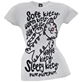 BIG BANG THEORY -- SOFT KITTY -- ICE GREY JUNIORS TEE