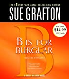 Sue Grafton B Is for Burglar (Kinsey Millhone Mysteries)