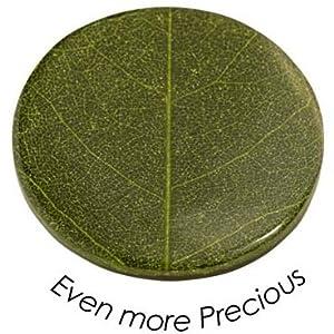 Quoins QMNK-M-BL-GR Münze Platte Even more precious medium grün Bambusblatt