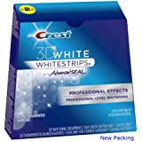 Crest 3D White Whitestrips With Advanced Seal Professional Effects Enamel Safe Dental Whitening, 20 count (Pack of 1)