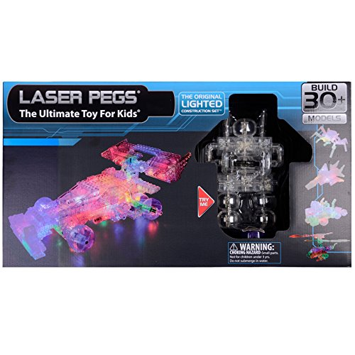 Laser Pegs Lighted Construction Grand Prix Bot Combo - 159 Construction Parts - 38 Laser Pegs (Laser Pegs Ventures Llc compare prices)