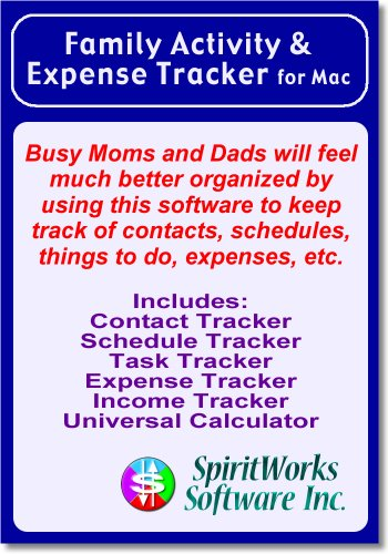 Family Activity & Expense Tracker for Mac [Download]