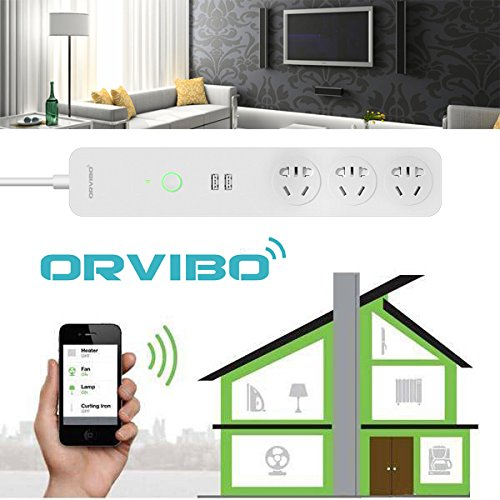 ORVIBO COCO USB WiFi Smart Home Extension Sockets Switches Remote Control Timing Plug Power Strip (Ca Timing compare prices)