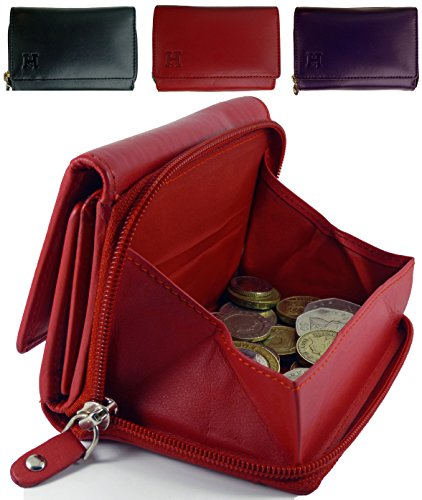 Gift Boxed Ladies Quality Leather Purse With