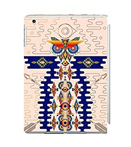 Ebby Premium Printed Back Case Cover With Full protection For Apple iPad Mini 3 (Designer Case)