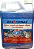 Wet & Forget Moss, Mold, Mildew, Algae Stain Remover 0.75 gal Concentrate (makes 4.5 gallons)