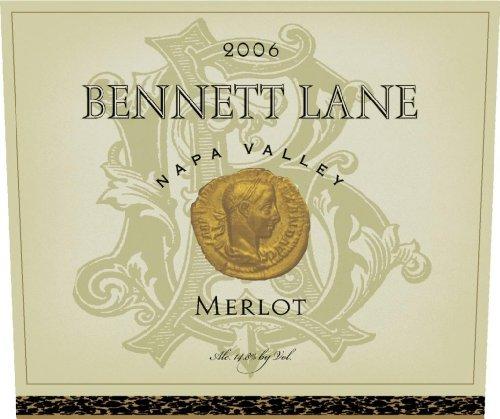 2006 Bennett Lane Merlot Napa Valley 750Ml
