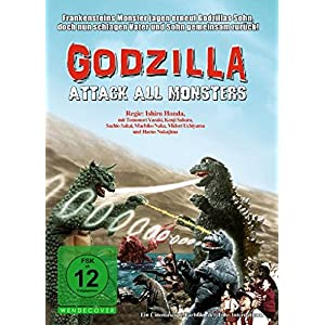 Godzilla-Attack All Monsters [Import allemand]