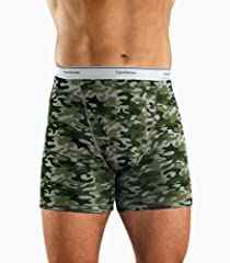 Fruit of the Loom Men's 4pk Print Boxer Briefs