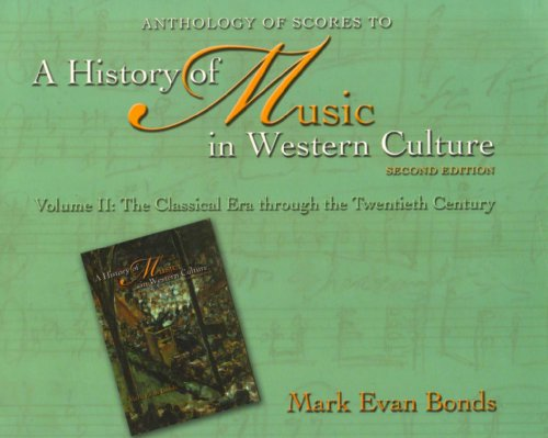 Anthology of Scores to A History of Music in Western...