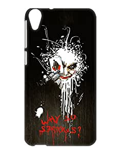 Crackndeal Back Cover for HTC Desire 820