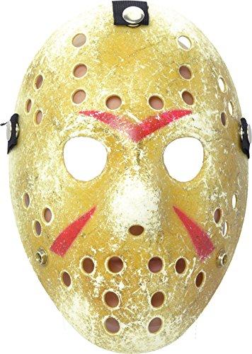 Rubie's PM128 - Maschera da Hockey Color, Taglia Unica
