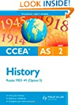 CCEA AS History Unit 2: Russia 1903-4...