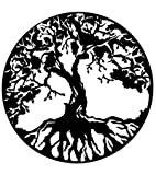 The Tree of Life Metal Wall Sculpture, Small 16