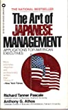 echange, troc Richard Tanner Pascale - The Art of Japanese Management: Applications for American Executives