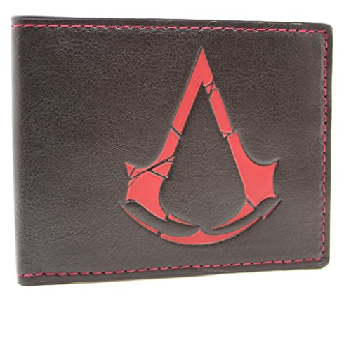 Ubisoft Assassins Creed Rogue Simbolo Nero portafoglio